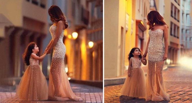 Fotos belíssimas de mães e filhas