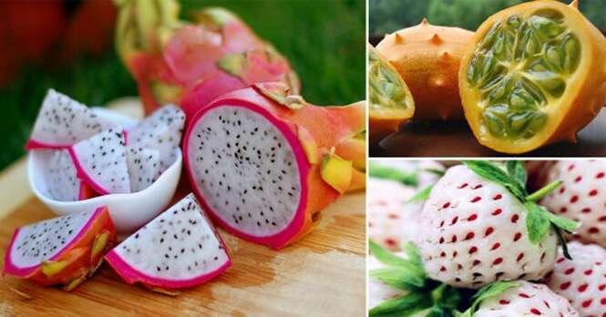 Frutas diferentes que você talvez nunca tenha visto