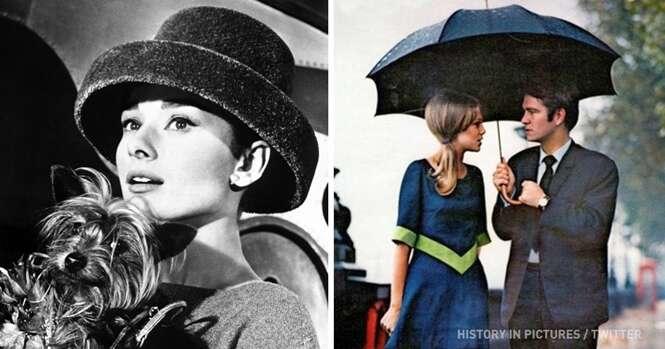 Imagens históricas que provam que as pessoas do passado tinham mais estilo que nós