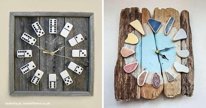 Ideias incríveis para você fazer o próprio relógio