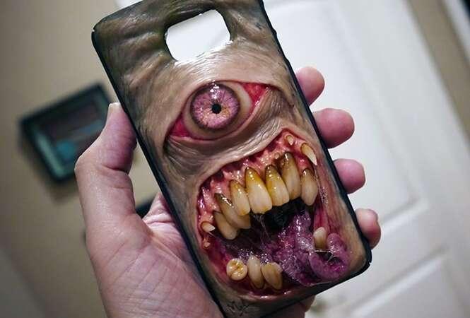 Capinhas mais macabras de celular que você já viu