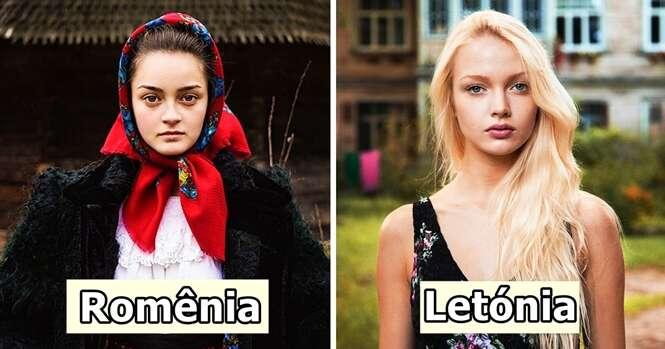 Fotógrafo capta a beleza das mulheres em 37 diferentes países