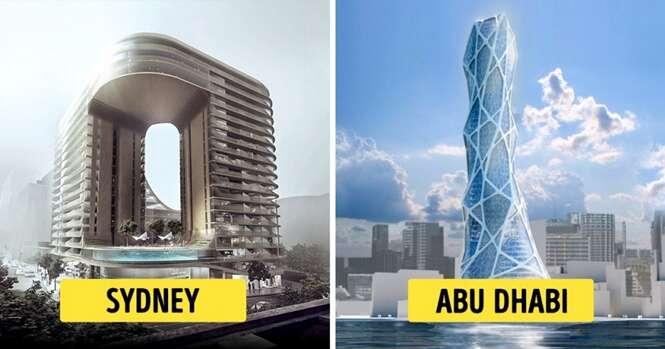 Edifícios fantásticos que o mundo conhecerá em breve