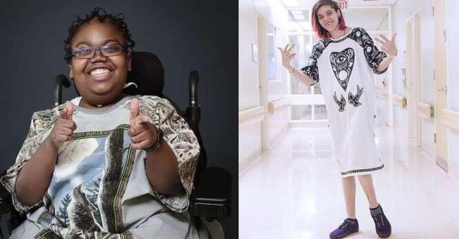 Designers estão fazendo hospital entrar na moda para fortalecer crianças doentes