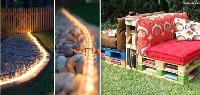Ideias para transformar o quintal da sua casa em um local aconchegante