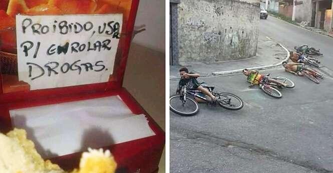 Imagens que revelam que os brasileiros definitivamente precisam ser estudados