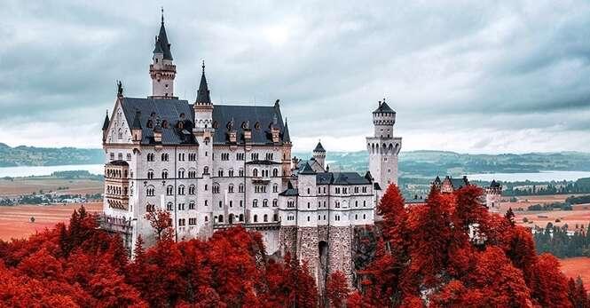 Castelos fantásticos onde você certamente gostaria de morar