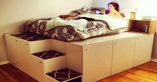 Como fazer uma cama armário