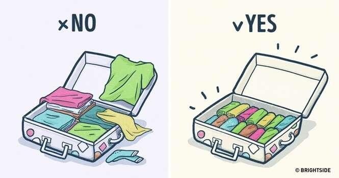 Dicas imprescindíveis para fazer sua mala de férias