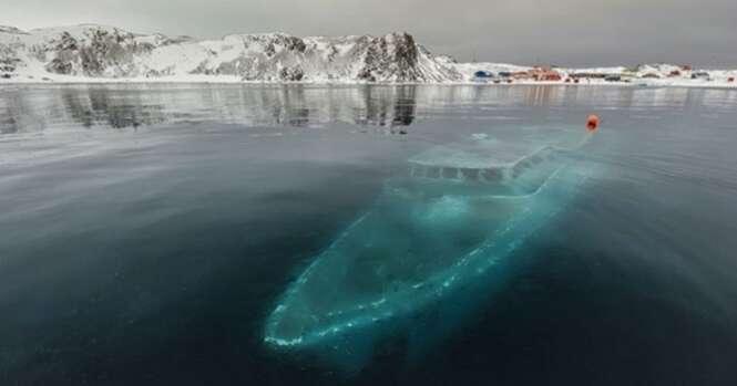 Embarcações abandonadas pela humanidade