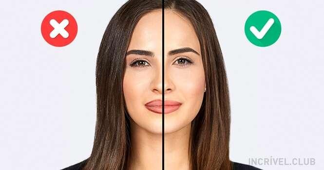 Erros de maquiagem que podem te deixar mais velha