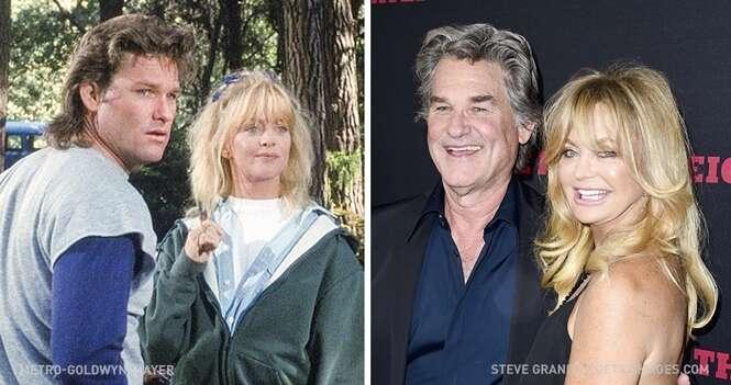 Casais de celebridades cujo amor começou nas telinhas