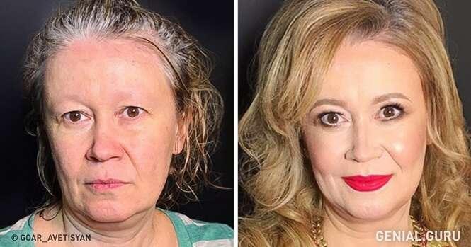 Maquiadora mostra que toda mulher pode brilhar