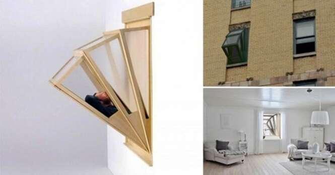 Conheça a janela para pequenos apartamentos que pode se transformar em uma varanda