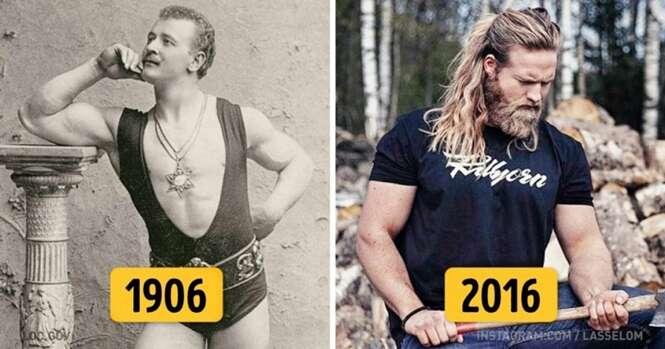 Como o padrão de beleza masculino vem mudando nos últimos 100 anos