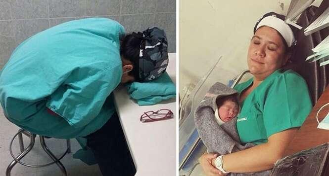 Blogueiro faz crítica ao postar foto de médicos dormindo no trabalho e se dá mal