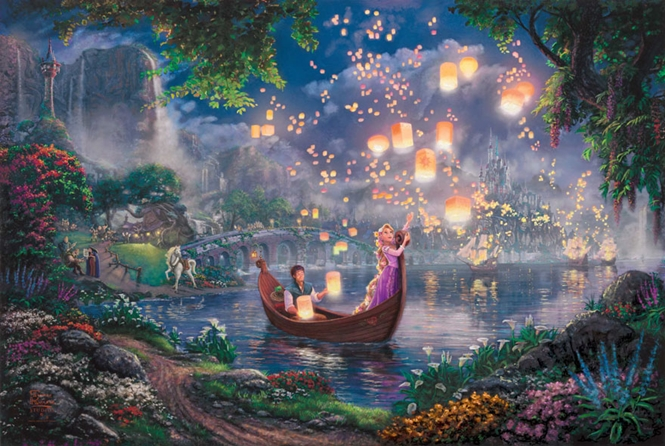 Pinturas inspiradas na Disney que são melhores que os próprios filmes
