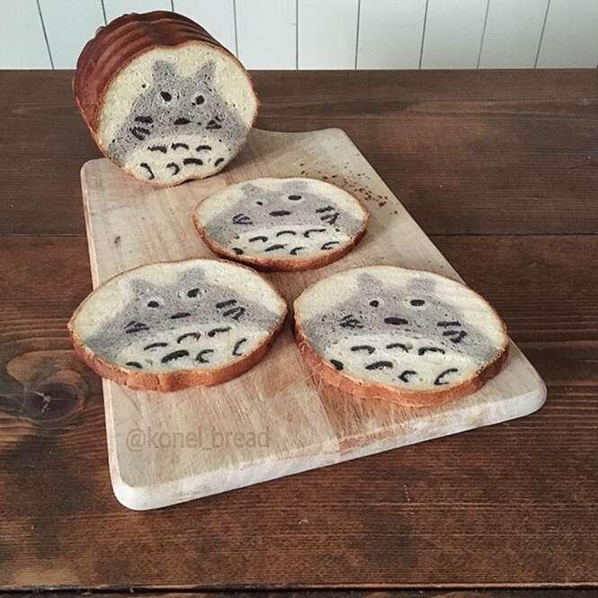 Japonesa faz pães inspirados nos desenhos de seu filho e da natureza