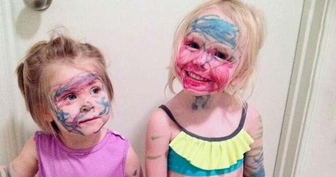 Coisas provando que ter filhos pode ser muito divertido
