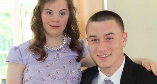 Este rapaz fez uma promessa para uma menina com Síndrome de Down e 7 anos depois a manteve
