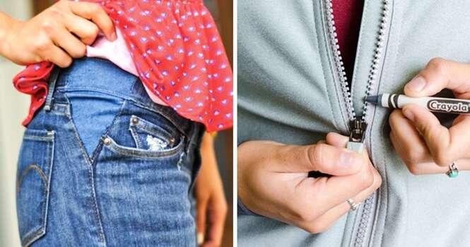 Truques incríveis para roupas que vão te fazer economizar uma fortuna