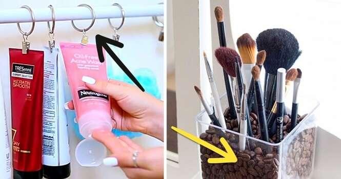 Dicas geniais para armazenar seus cosméticos