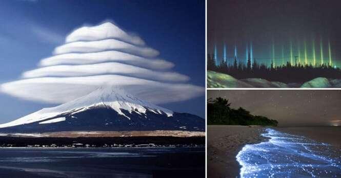 Fenômenos únicos da natureza