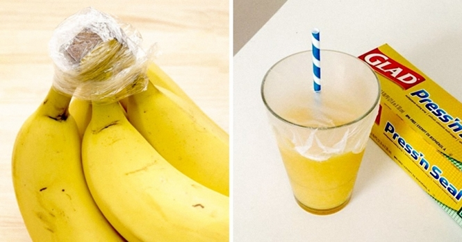 Usos inesperados para o plástico de embalar alimentos