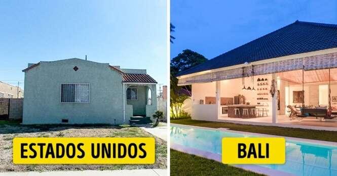Casas que você pode adquirir com 300 mil dólares em diferentes partes do mundo