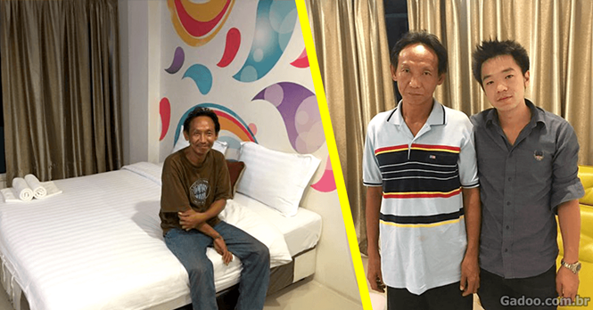 Morador de rua encontra carteira, a devolve e ganha dignidade para viver