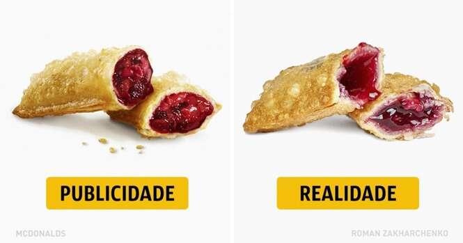 Publicidade X Realidade nas redes de fast food