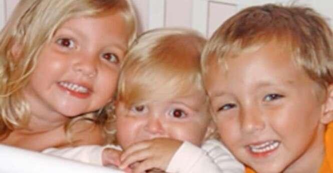 Terrível acidente mata três irmãos e 6 meses mais tarde mãe das crianças fica grávida de trigêmeos