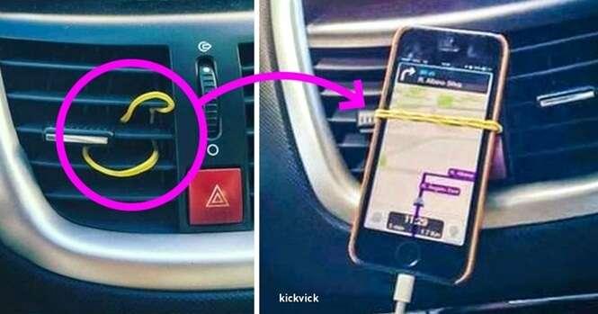 Truques geniais para fazer no seu carro