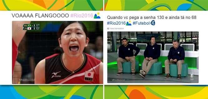 Provas de que os brasileiros não sabem levar as Olimpíadas a sério