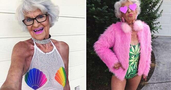 Vovó de 88 anos faz sucesso na internet com milhões de seguidores
