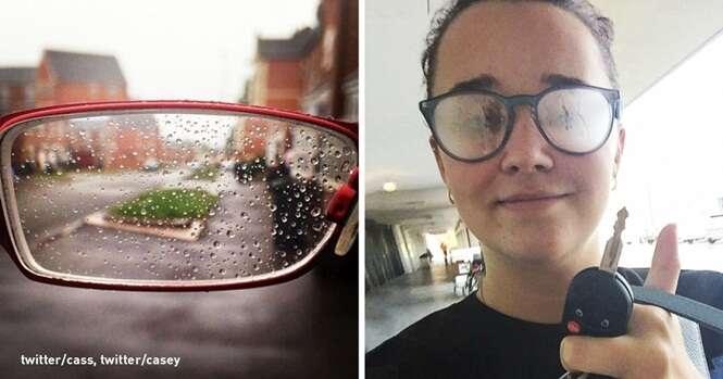 Situações hilárias que só quem usa óculos vai entender