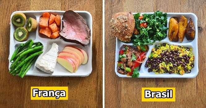 Como se parece o almoço das escolas em diferentes partes do mundo