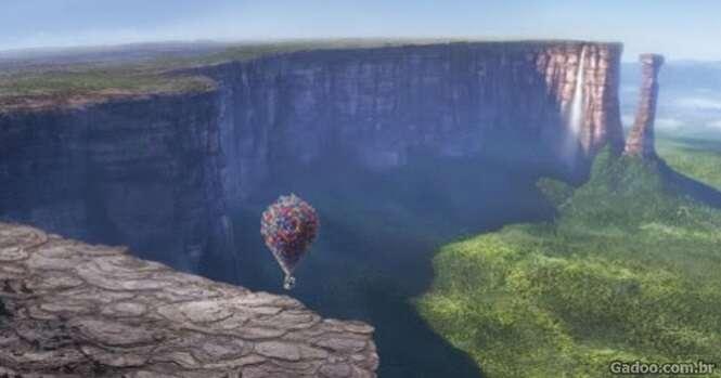 """Conheça o local fonte de inspiração do filme """"Up, Altas Aventuras"""""""