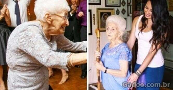 Idosa de 87 anos muda postura e tem vida renovada graças à Ioga