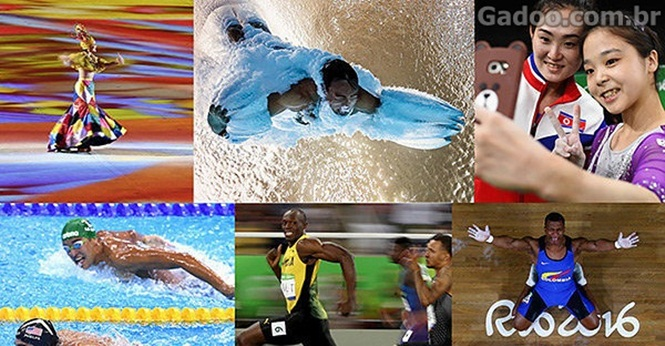 As melhores fotos das Olimpíadas Rio 2016