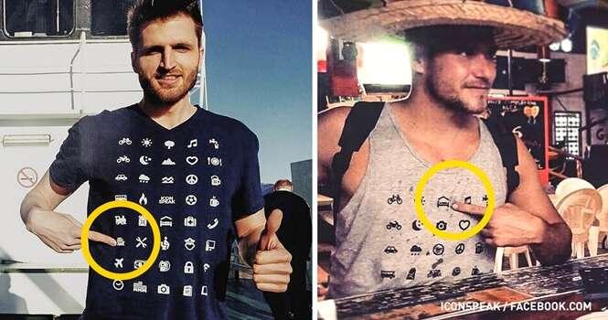 Essa camiseta é perfeita para quem ama viajar