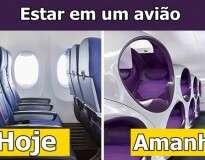 Assim serão as cabines dos aviões num futuro próximo