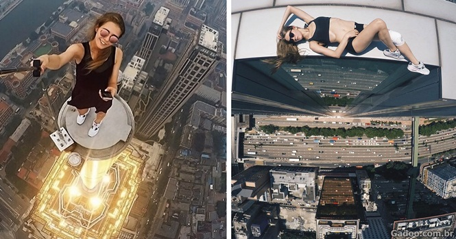 Russa se arrisca registrando fotos de tirar o fôlego