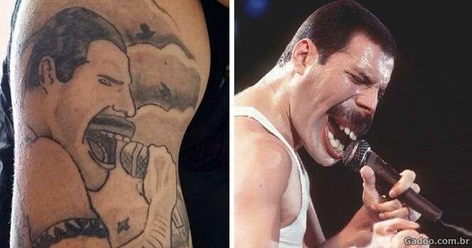 Pessoas modificadas para se parecer com tatuagens