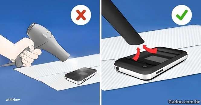 Dicas infalíveis para salvar seu celular se ele se molhar