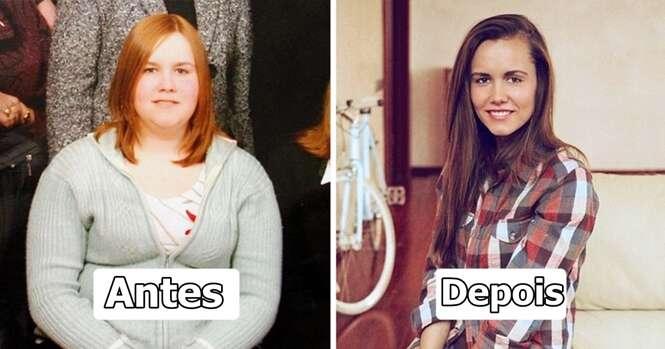 Pessoas provando que em apenas 1 ano você pode mudar muita coisa