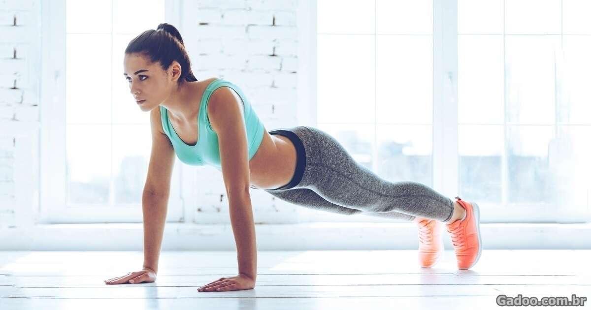 O que acontecerá se você começar a fazer prancha abdominal todos os dias