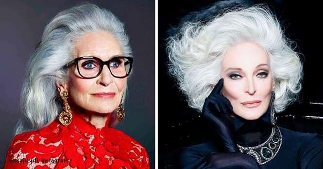 Modelos que não ousamos chamar de idosas