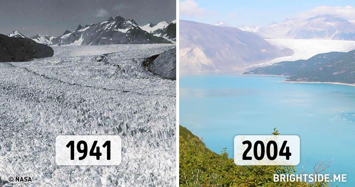 Fotos da NASA provando como nosso planeta está mudando