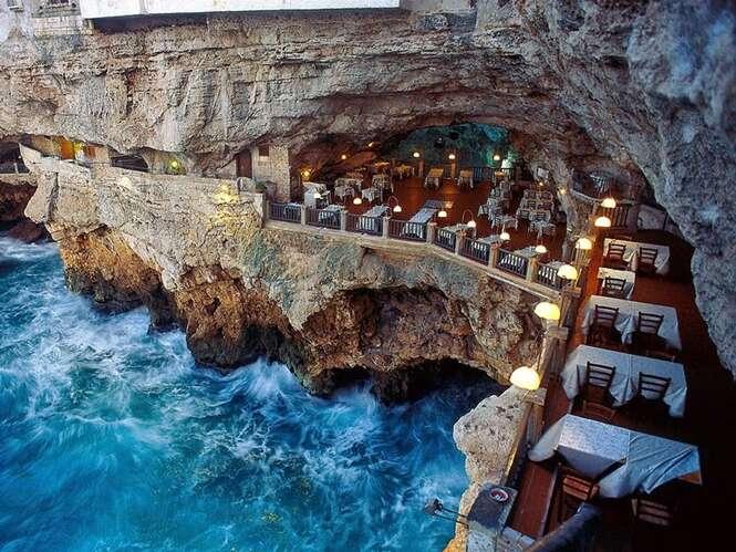 Jantar neste incrível restaurante é realmente inesquecível